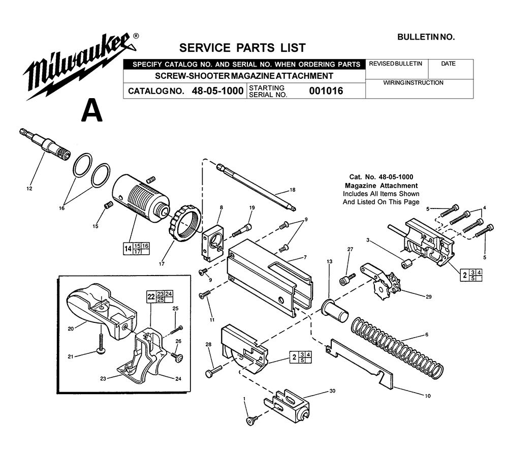 6707-20-(120A)-Milwaukee-PB-1Break Down
