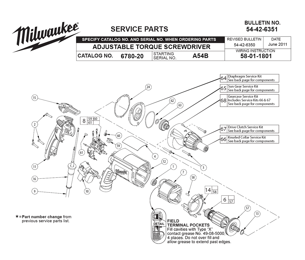 Buy Milwaukee 6780
