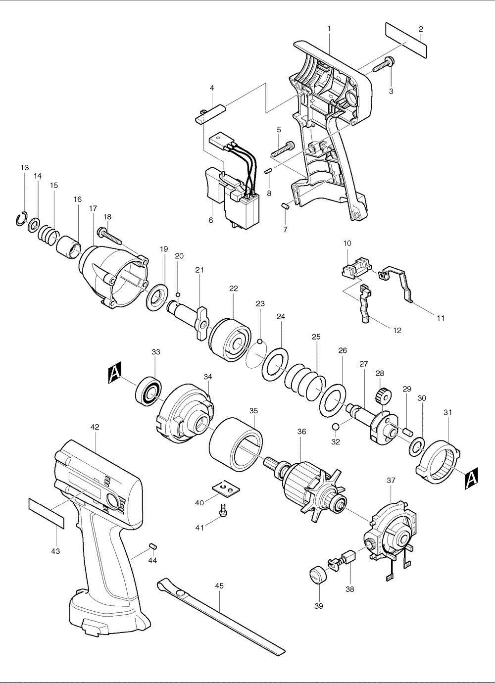 buy makita 6916d replacement tool parts