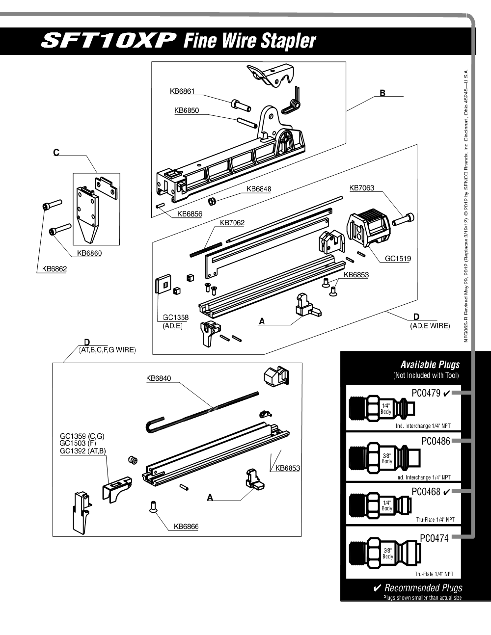 6S0021N-senco-PB-1Break Down