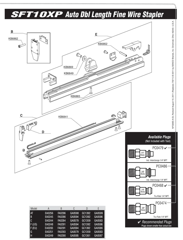 6S0321N-senco-PB-1Break Down