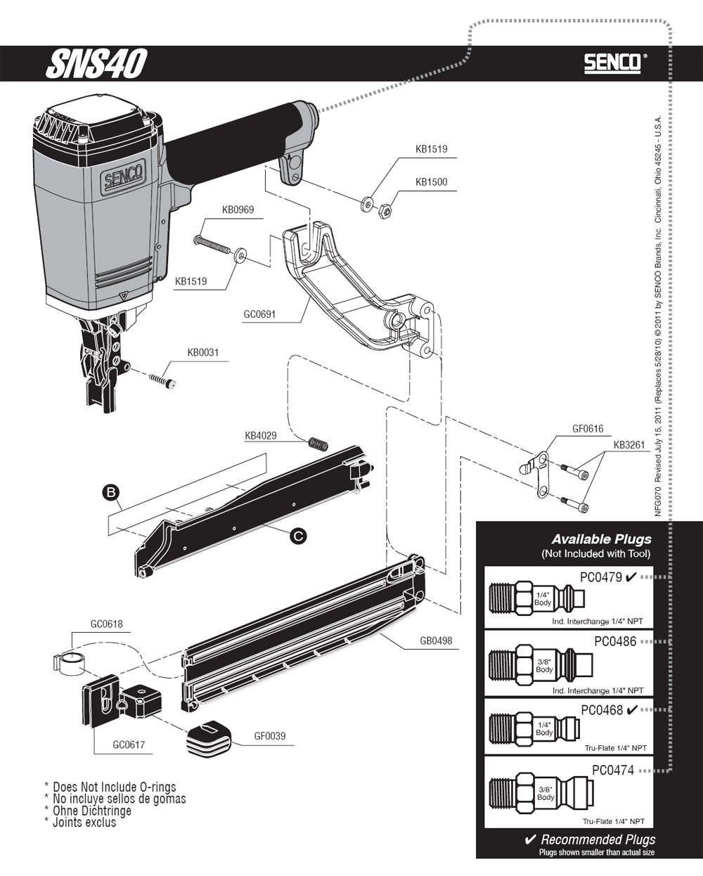700001N-senco-PB-1Break Down