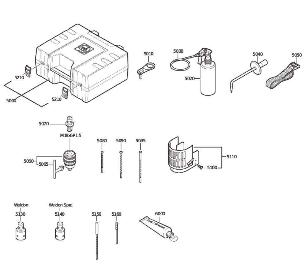 Fein-72702700617-Parts-4001-PBBreak Down