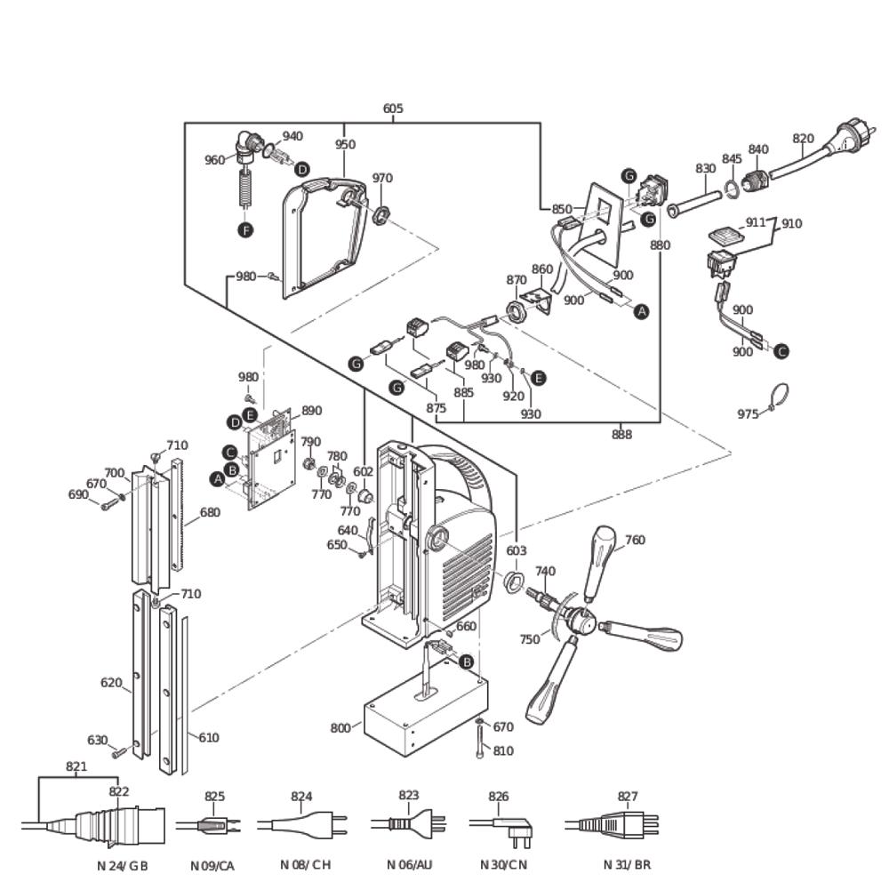 Fein-72702709368-Parts-3998-PBBreak Down