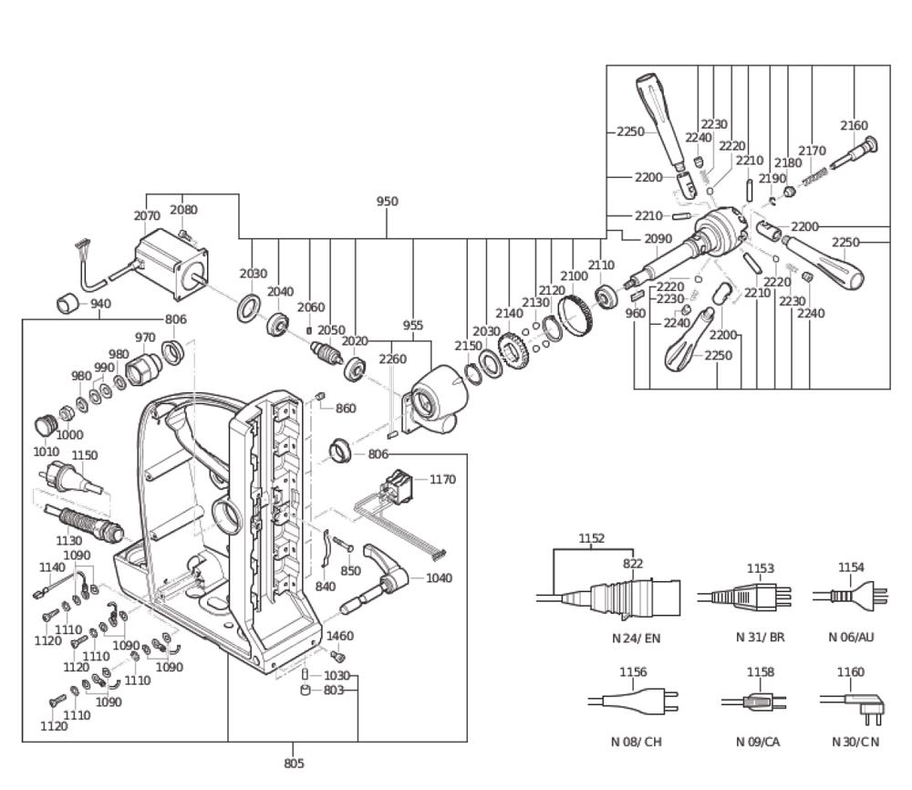 Fein-72703209360-Parts-4012-PBBreak Down