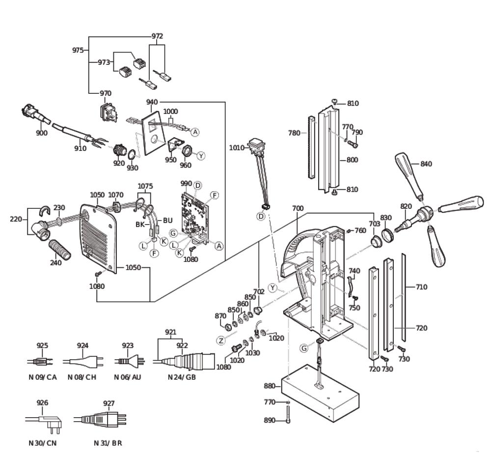 Fein-72703311230-Parts-3973-PBBreak Down