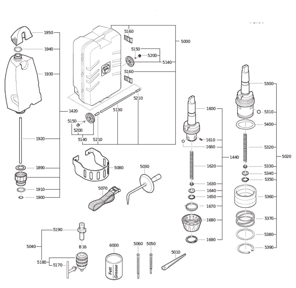 Fein-72703409360-Parts-3977-PBBreak Down