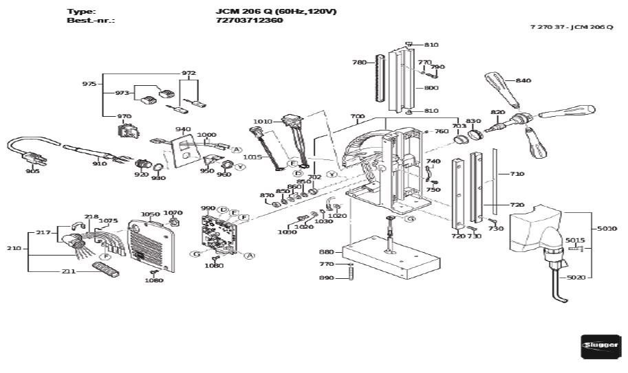 Fein-72703712360-Parts-4018-PBBreak Down