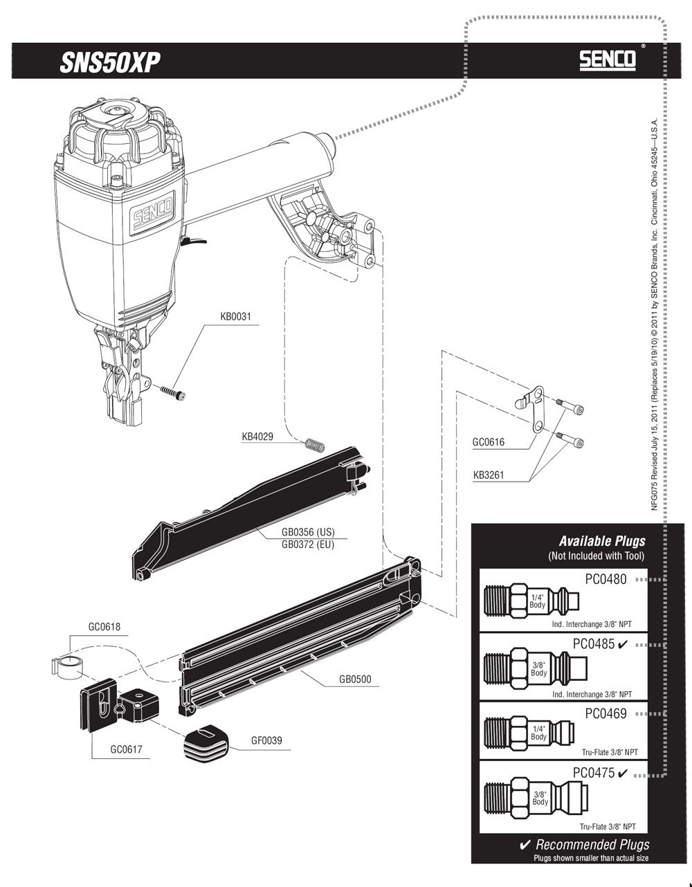 750101N-senco-PB-1Break Down