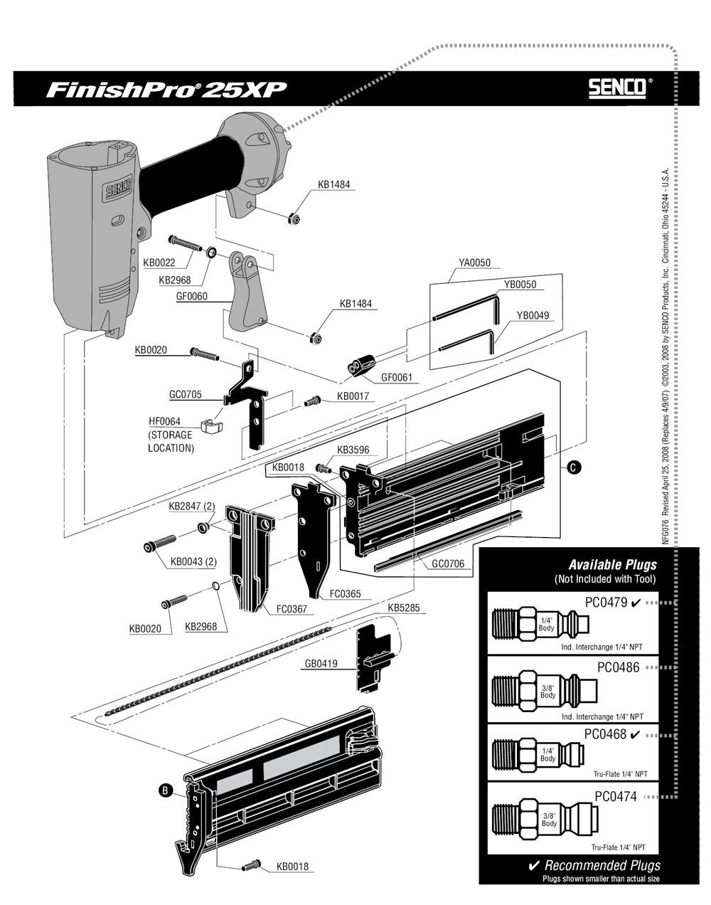 760102N-senco-PB-1Break Down