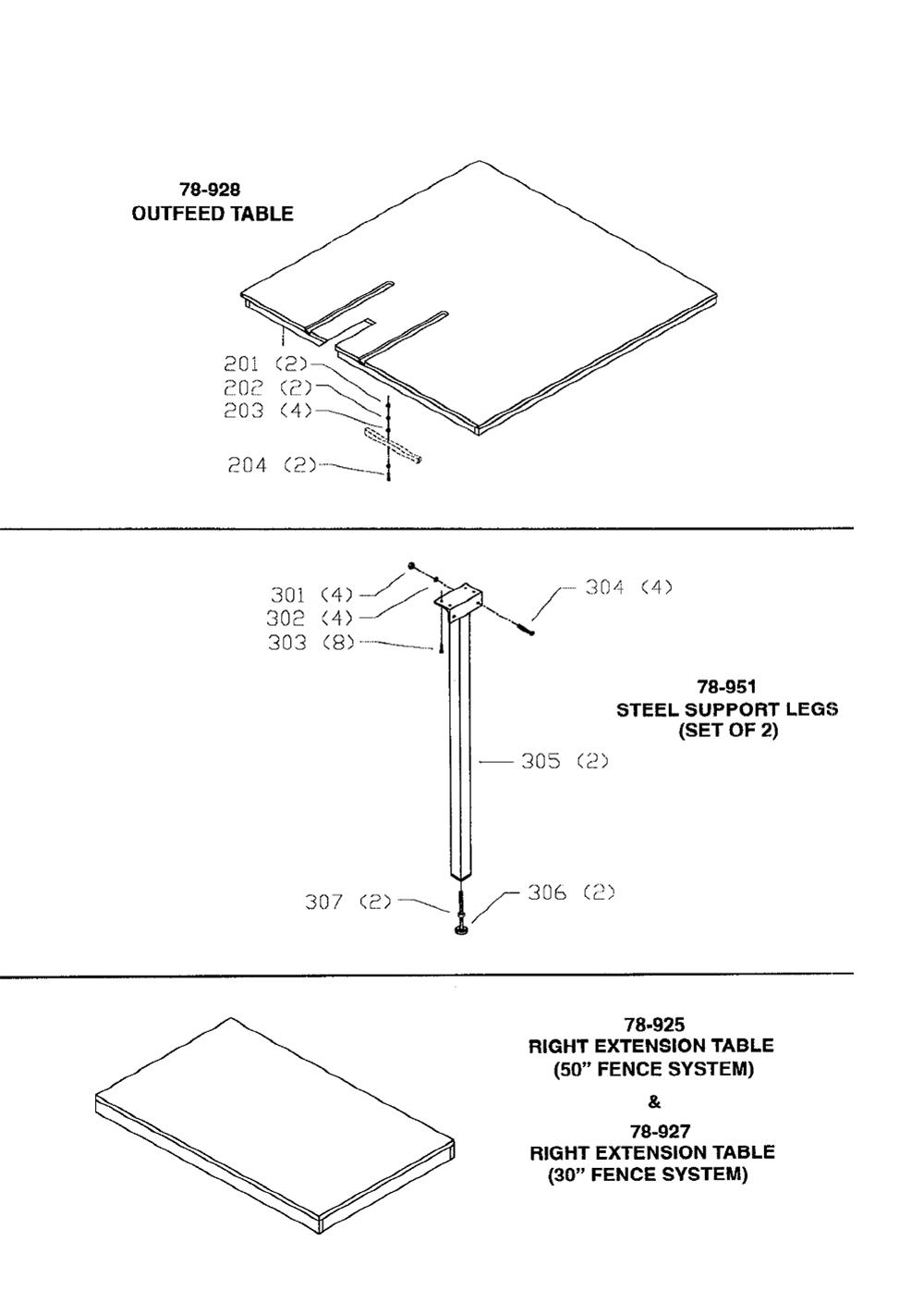 78-900-T1-Biesemeyer-PB-1Break Down