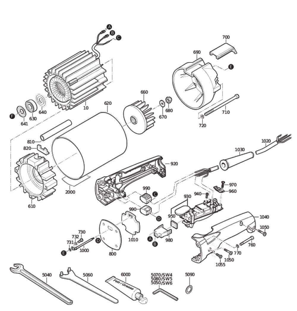 Fein-78207700260-Parts-4022-PBBreak Down