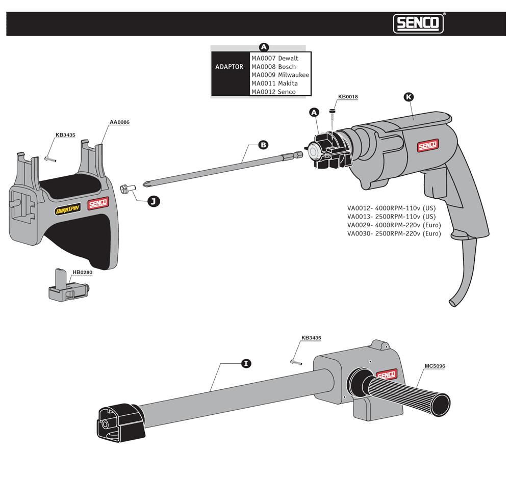 790003N-senco-PB-1Break Down