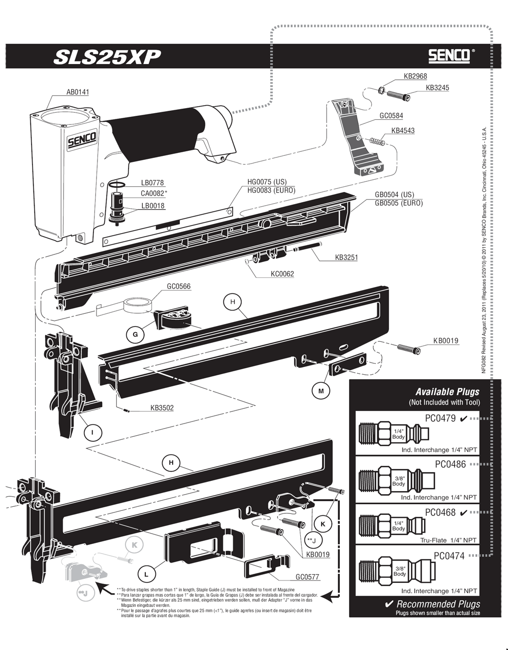 820103N-senco-PB-1Break Down