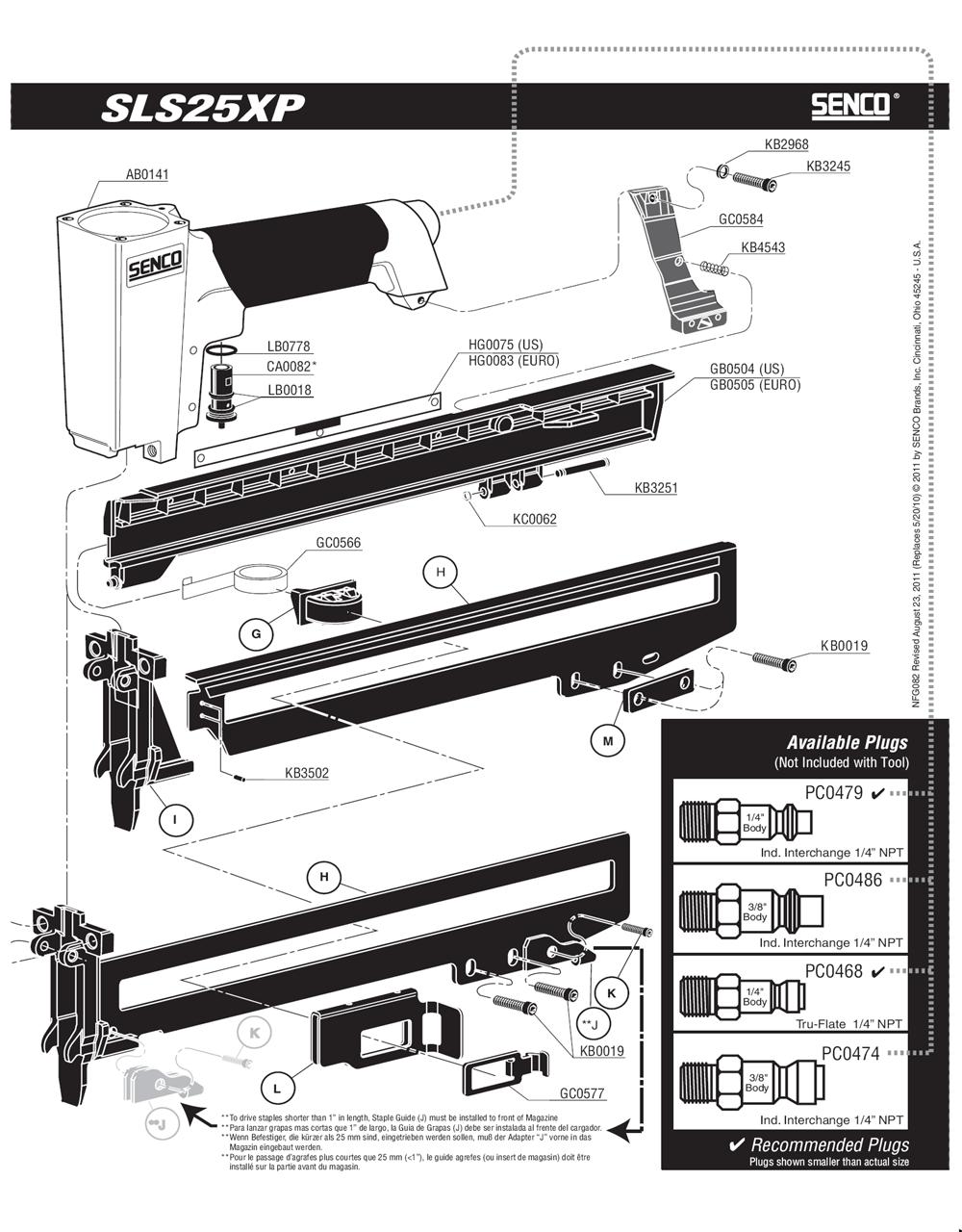 820107N-senco-PB-1Break Down