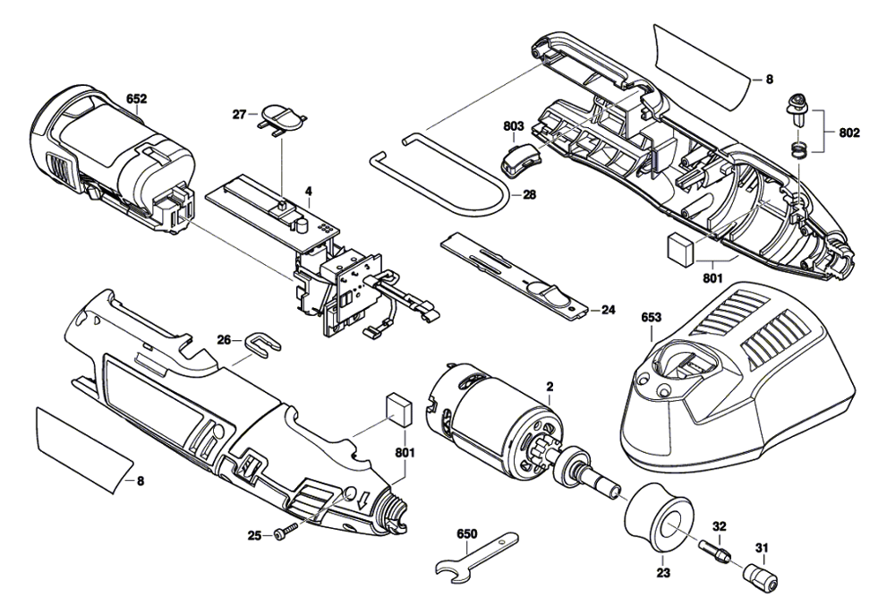 Tool Replacement Parts : Buy dremel f  replacement tool parts