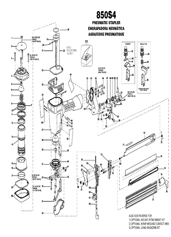 850S4-Type-0-bostitch-PB-1Break Down