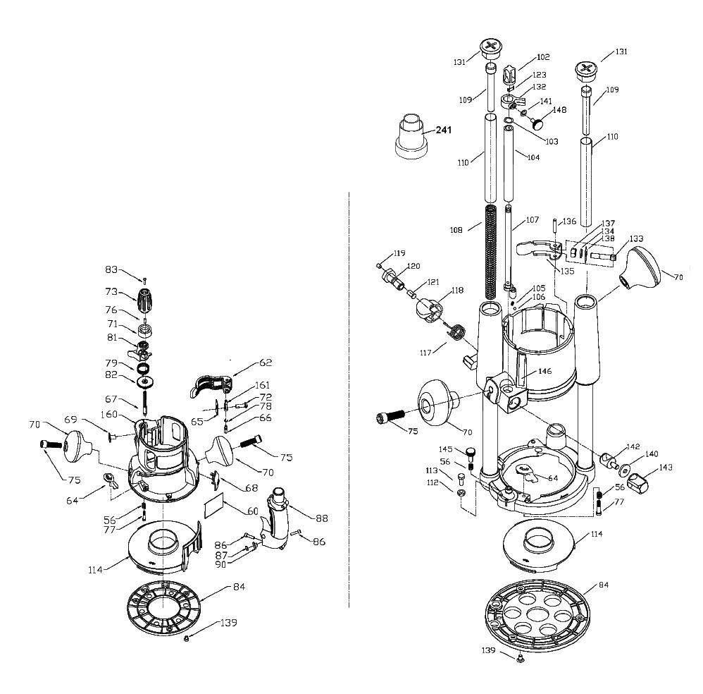 890-Porter-Cable-T1-PB-1Break Down