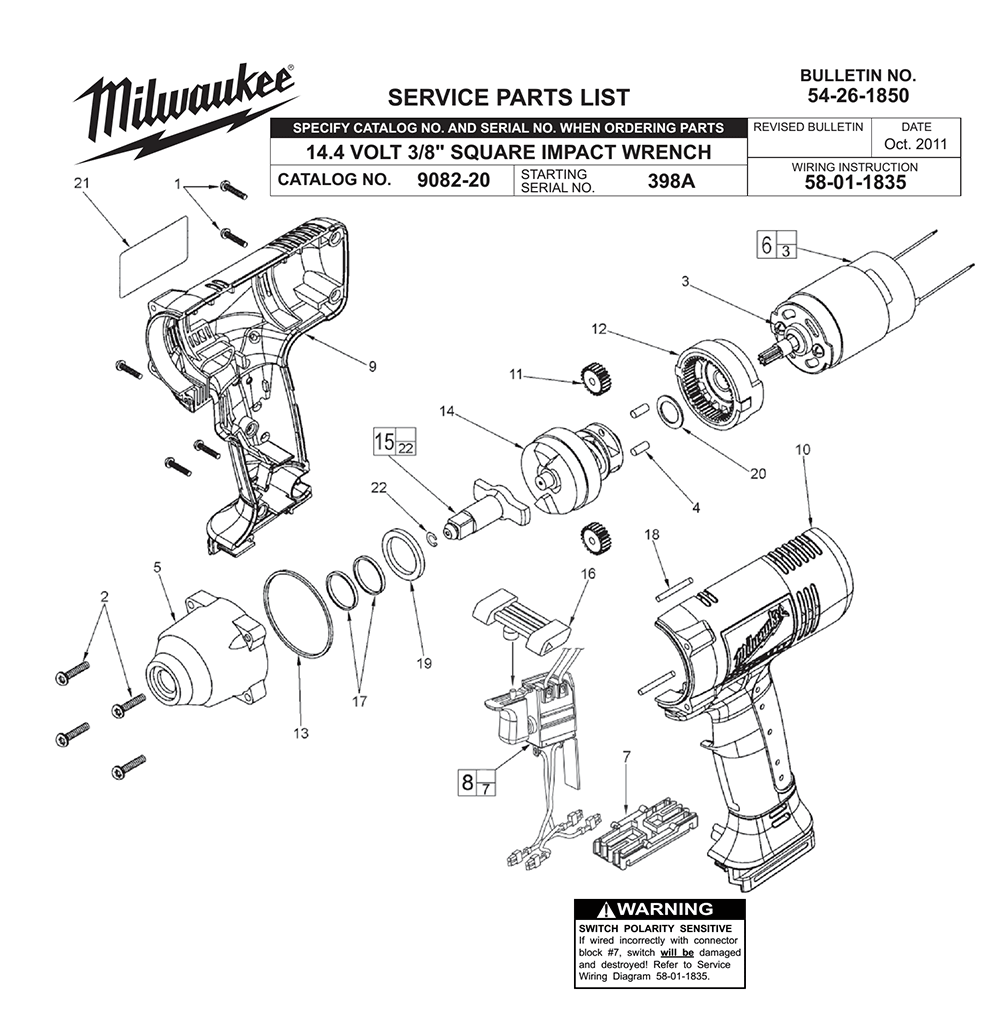 Buy Milwaukee 9082