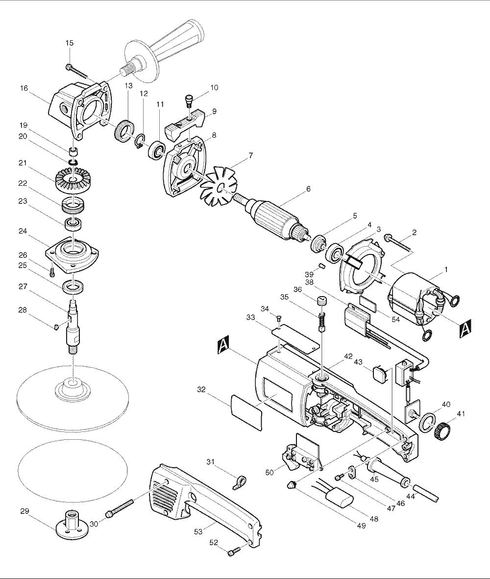 Buy Makita 9207spc Replacement Tool Parts