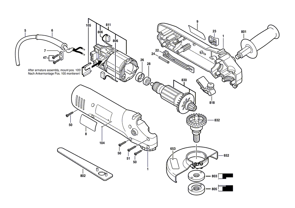 buy skil f replacement tool parts  skil, schematic