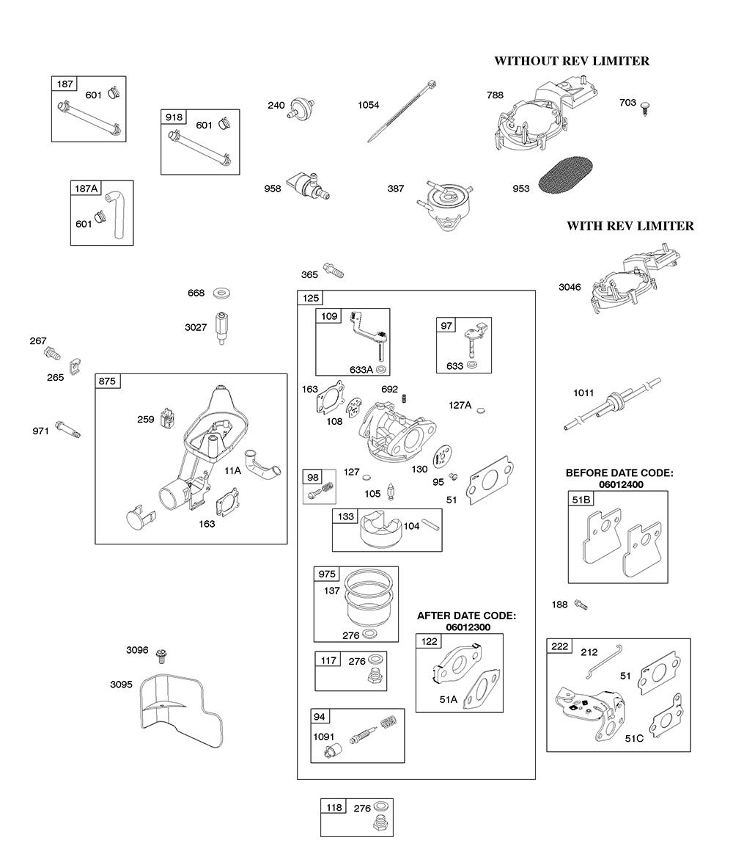 AA0101-(0005)-BriggsandStratton-PB-1Break Down