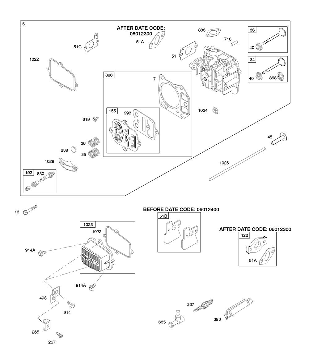 AA0101-(0005)-BriggsandStratton-PB-4Break Down
