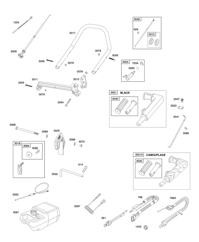 AA0101-(0005)-BriggsandStratton-PB-7Break Down
