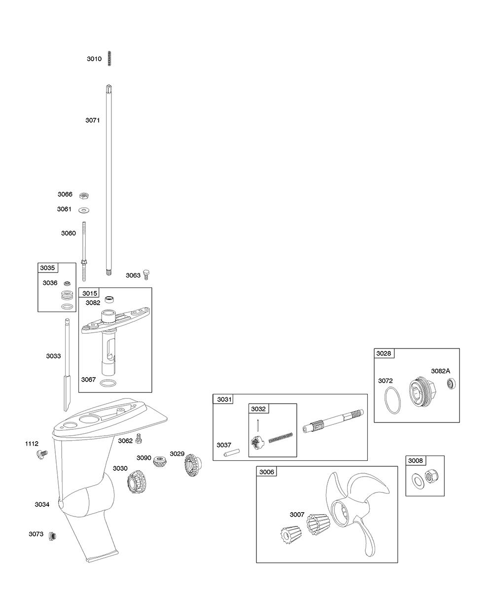 AA0101-(0005)-BriggsandStratton-PB-8Break Down
