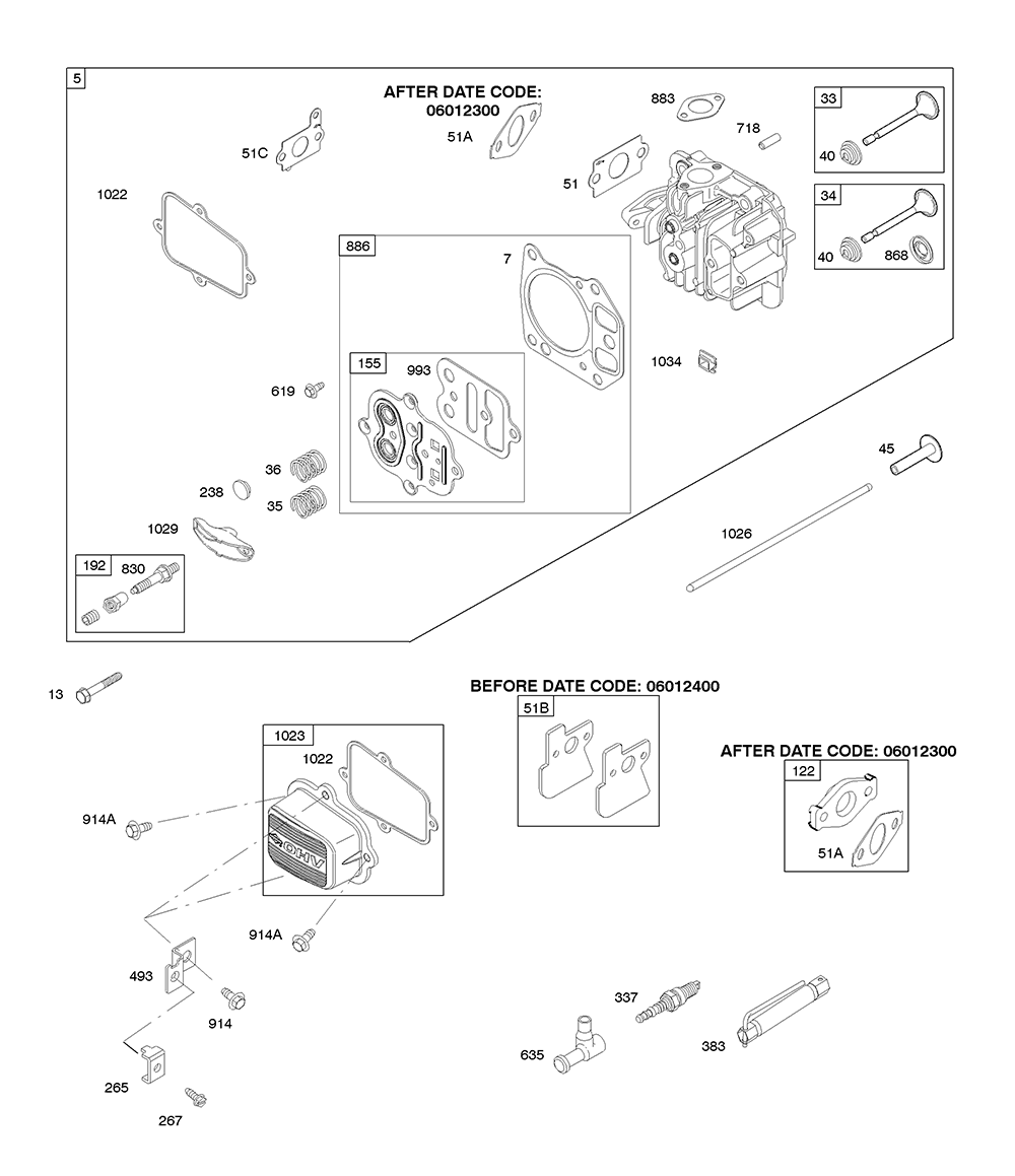 AA0101-(0020)-BriggsandStratton-PB-4Break Down
