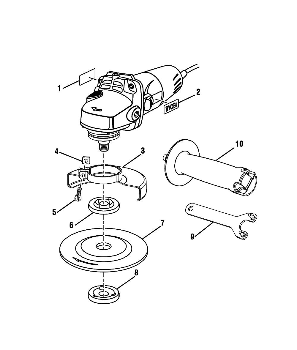 buy ryobi ag403 replacement tool parts
