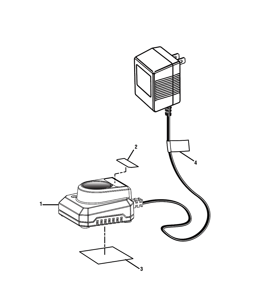ryobi charger parts