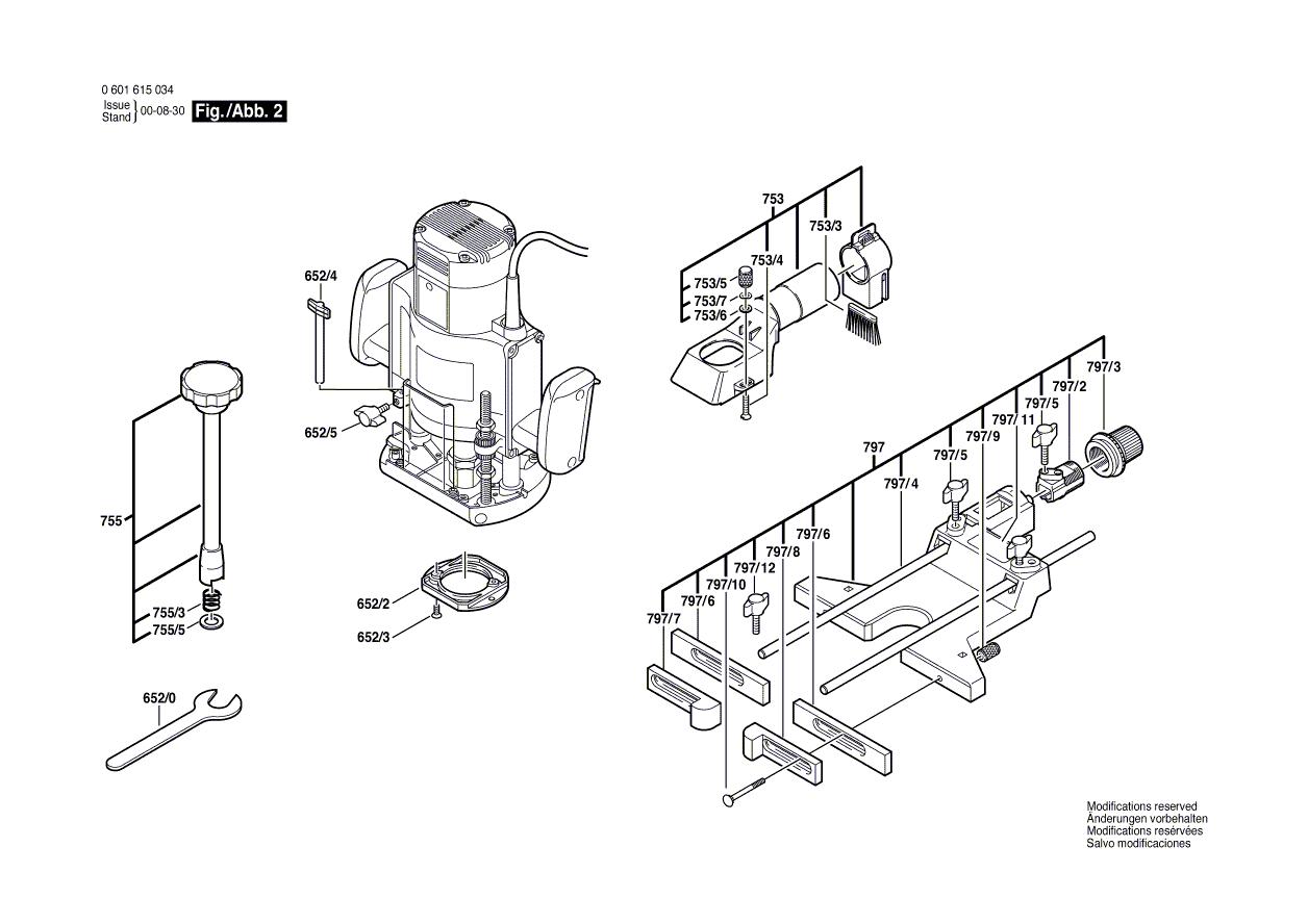 B1550(0601615035)-bosch-PB-1Break Down