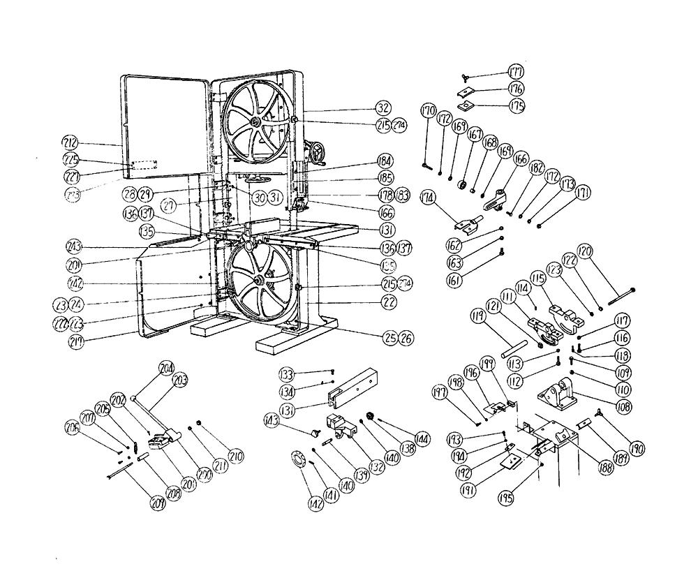 B750A-Hitachi-PB-1Break Down