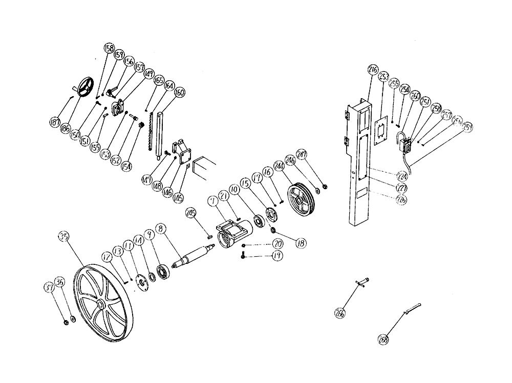 B750A-Hitachi-PB-3Break Down