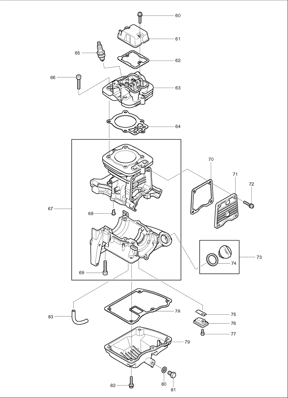 Makita-BBX7600CA-568-PBBreak Down