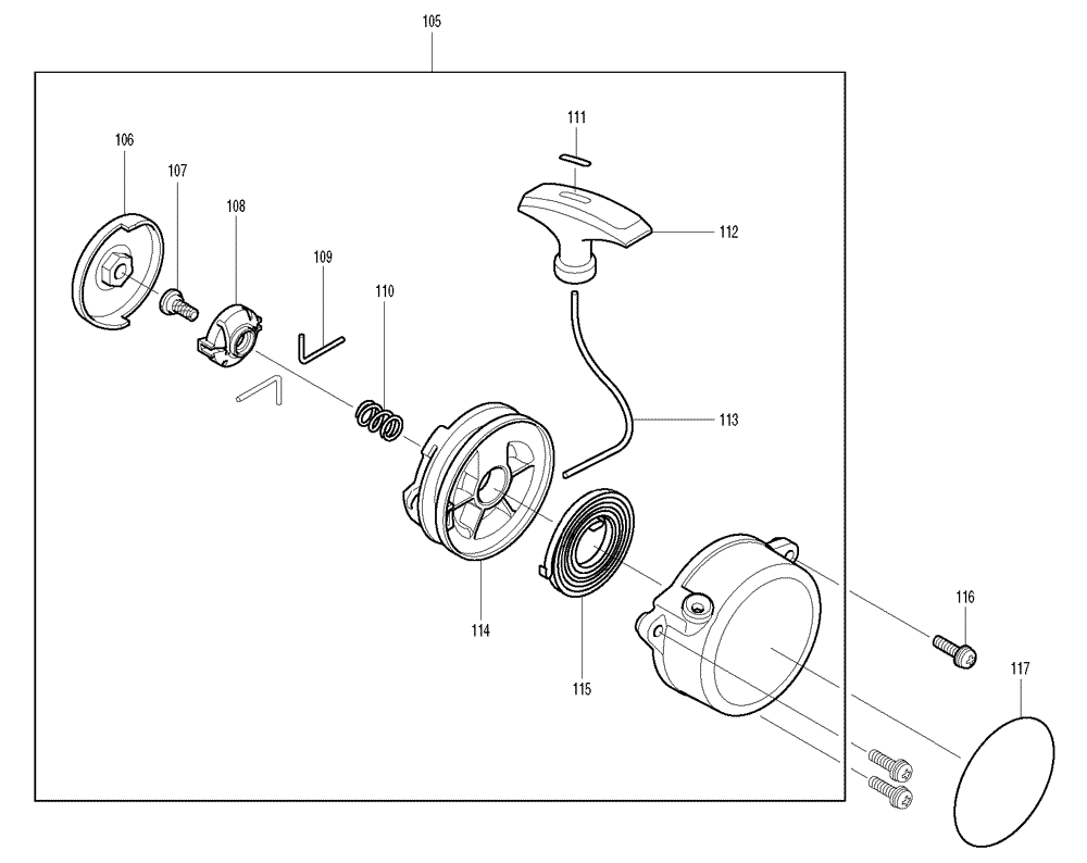 Makita-BBX7600CA-573-PBBreak Down