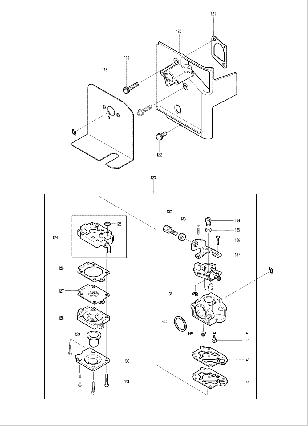 Makita-BBX7600CA-574-PBBreak Down