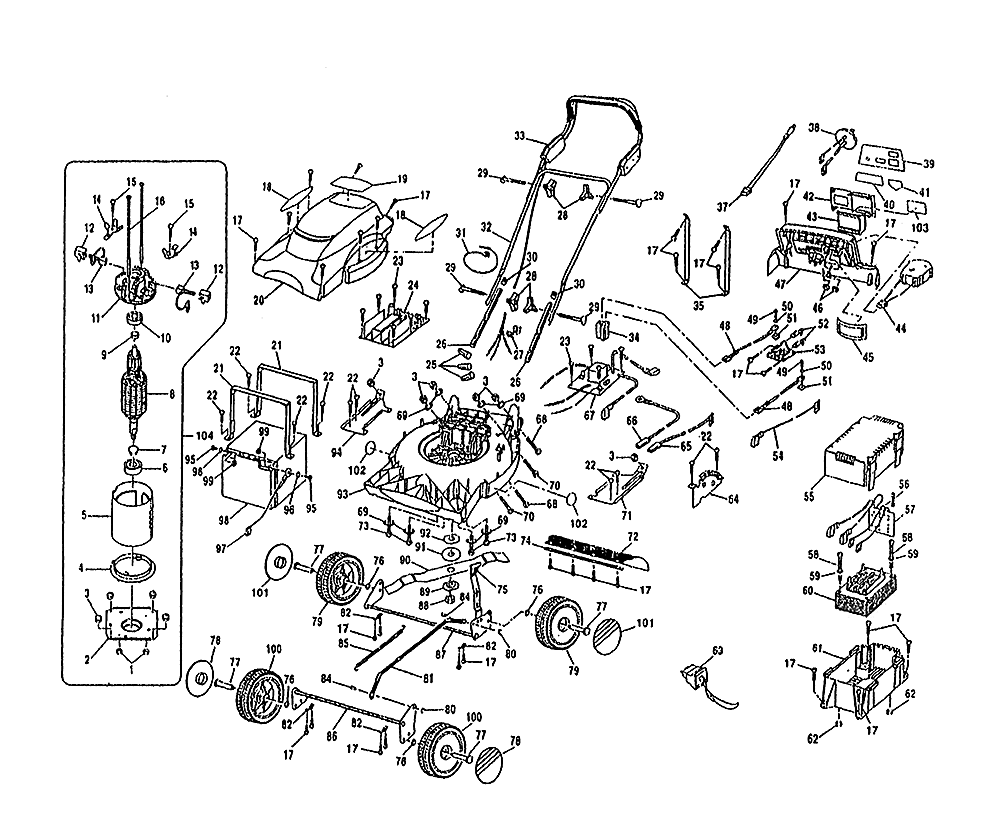 buy ryobi bmm2400  719764  replacement tool parts