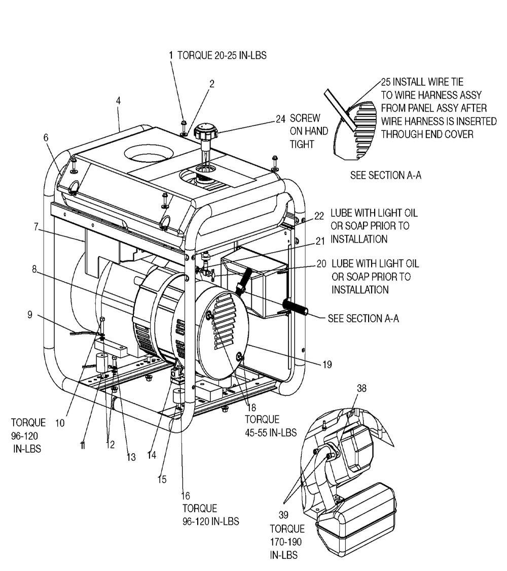 Devilbiss generator gt5250 Owners manual