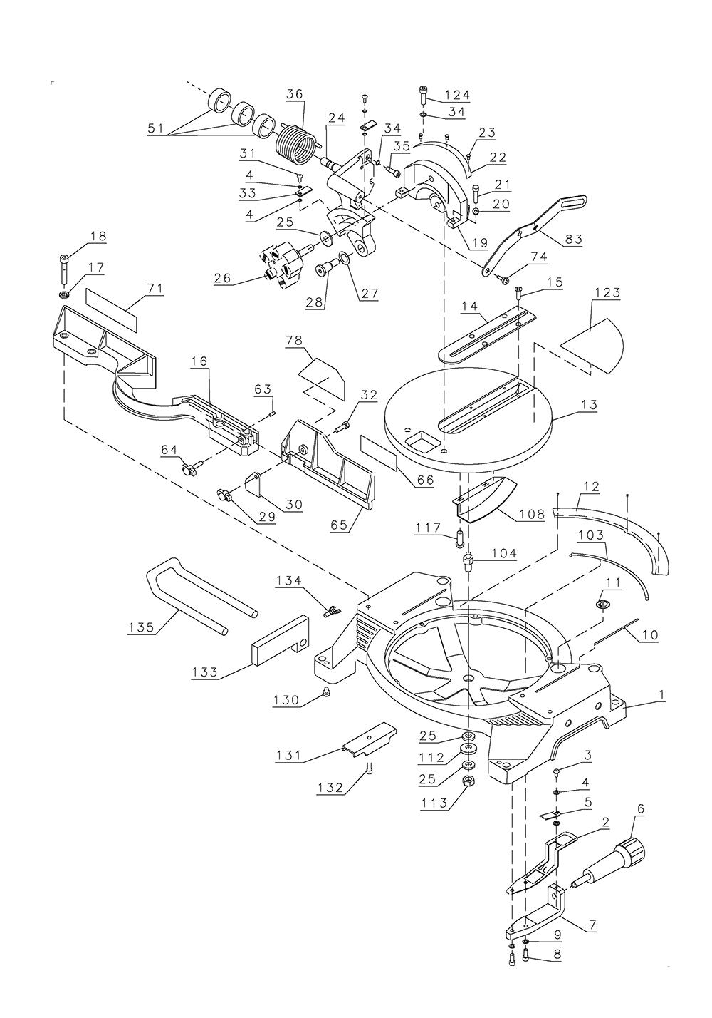 BT1500-BlackandDecker-T1-PB-1Break Down
