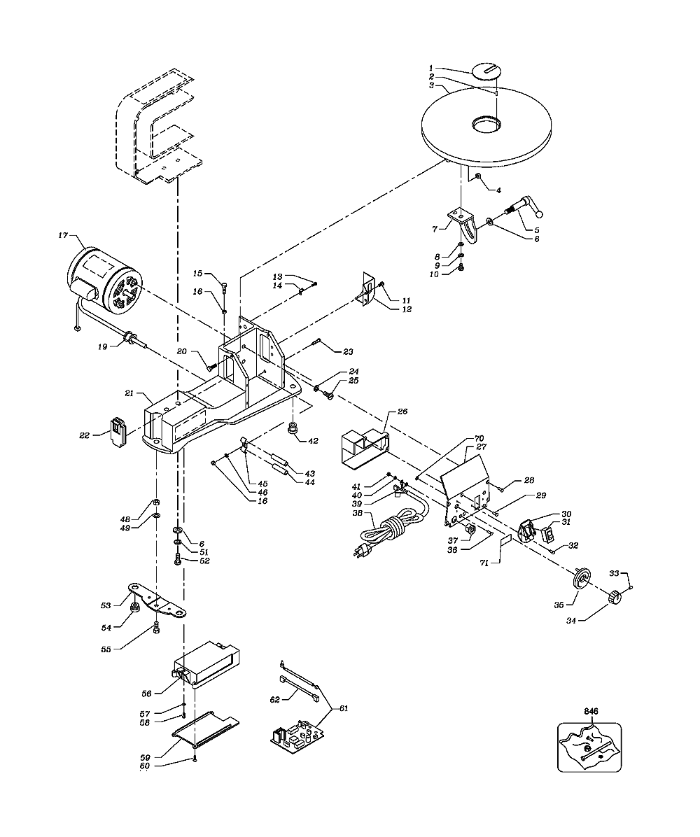 BT1600-BR-BlackandDecker-T1-PB-1Break Down