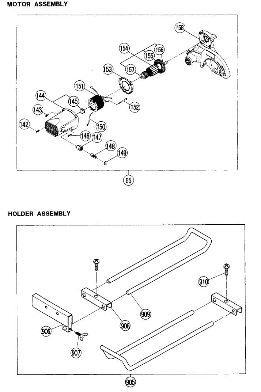 Hitachi-C10FCD-Parts-682-PBBreak Down