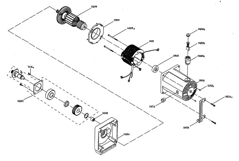 Hitachi-C10FR-Parts-685-PBBreak Down