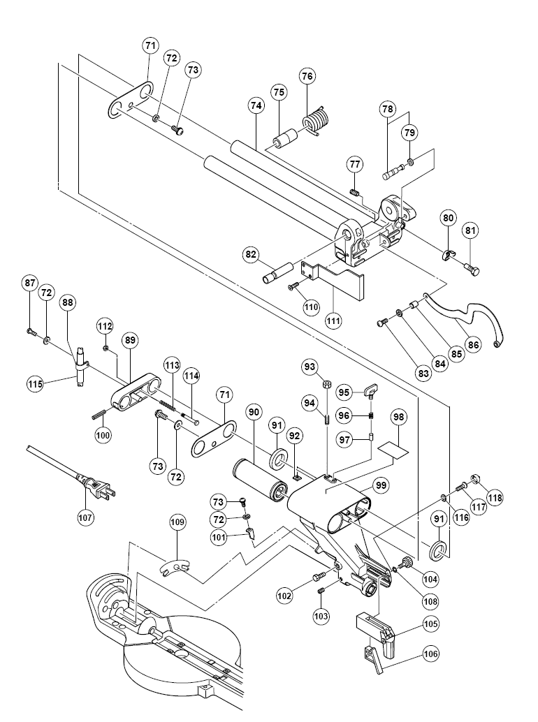 C10FSB-hitachi-PB-1Break Down