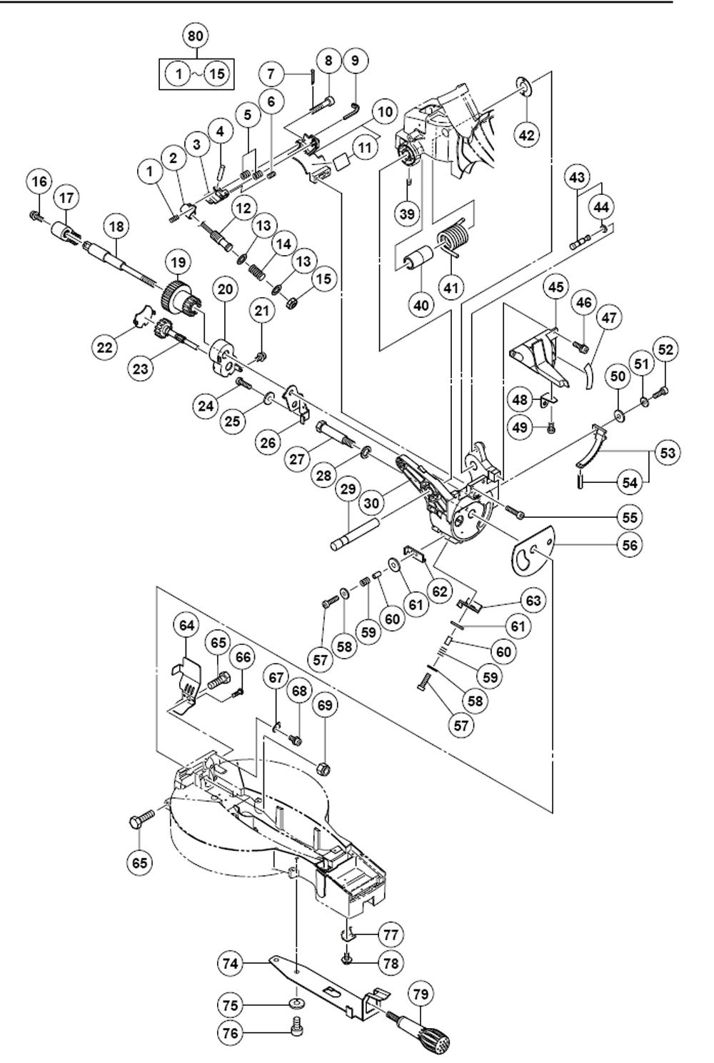Buy Hitachi C12FCH 12 Inch Compound Miter with Laser ... Hitachi Tools Par