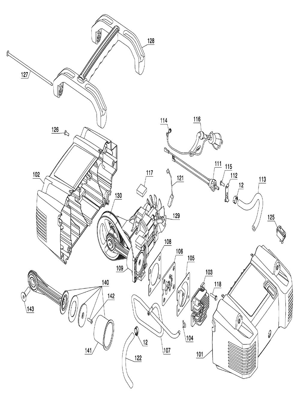 C2002-portercable-T4-PB-1Break Down