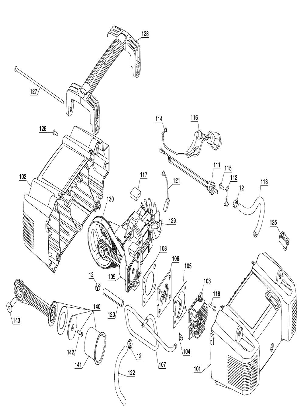 C2002-portercable-T8-PB-1Break Down