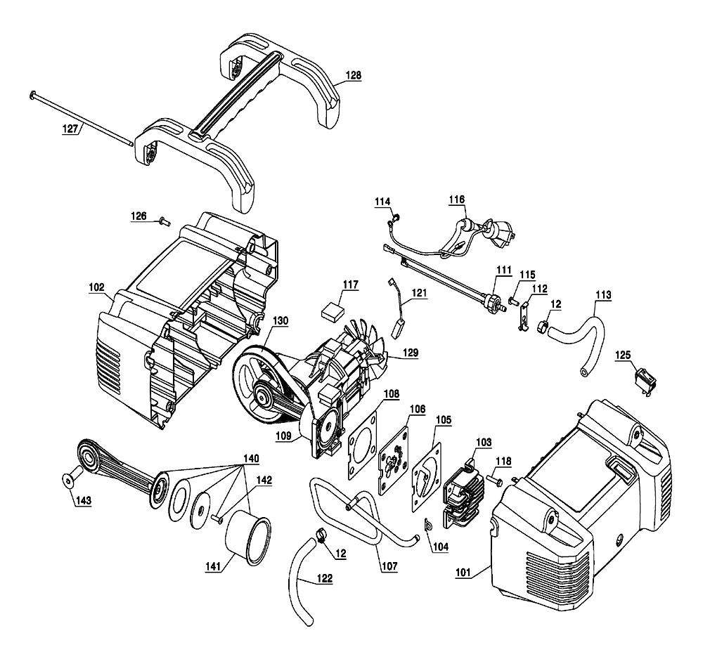 C2002-WK-Porter-Cable-T4-PB-1Break Down
