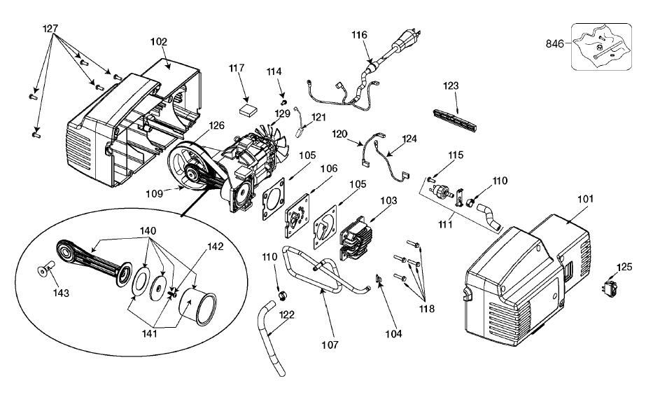 Porter-Cable-C2006-Type-T0-Parts-4298-PBBreak Down
